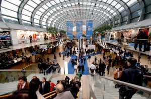 """Die 16 am """"Science Campus"""" beteiligten Hochschulen, Institute und Fachagenturen hoffen auf großes Publikumsinteresse auf der K 2013 (Foto: Messe Düsseldorf)"""