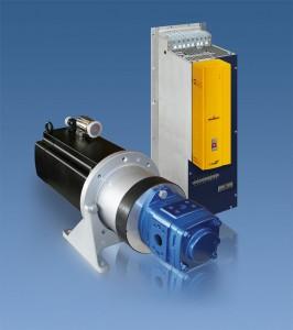 Mit der Servopumpe erreicht Baumüller zum Beispiel in Spritzgießmaschinen enorme Energieeinsparungen