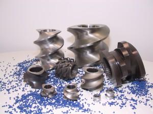 Die Herstellung von Schneckenelementen ist eine Kernkompetenz von Burgsmüller (Foto: Burgsmüller)