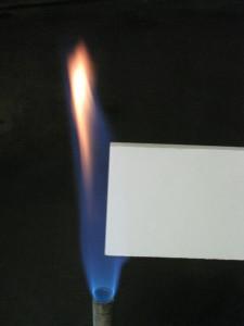 Flamme (Foto: Lorenz  Kunststofftechnik)