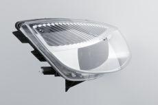 Der hochtransparente Silikonkautschuk Lumisil LR 7600 wurde speziell für die Herstellung optischer Linsen, Kopplungs- oder Lichtleitelemente entwickelt. (Foto: Wacker)