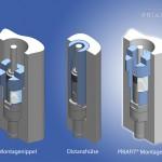Priamus: Einfache Sensormontage