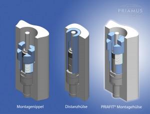 Easy Sensor Mounting with PPRIAFIT (Foto: Priamus)