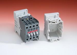 Eine der ersten Serienanwendungen des thermoplastischen technischen Kunststoffs Ultradur B4450 G5 sind die Gleichstromschaltschütze von ABB, Lyon, die im Schienenverkehr zum Einsatz kommen. (Foto: BASF)