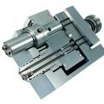 Die HPS III-MV Mehrfach-Nadelverschlussdüse, hier in Zweifachausführung, dient der prozesssicheren Anbindung von Bauteilen über mehrere Anschnitte. (Foto: Ewikon)