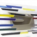 In den verschiedenen Varianten einer Zierblende sind Teil eines neuen kompletten Materialkonzepts für den Autoinnenraum. (Foto: Bayer Material Science)
