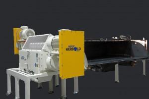 Der neue Shredder HZR 1300 dient der Vorzerkleinerung von Rohren und Anfahrklumpen. (Foto: Neue Herbold)