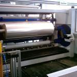 Wickler von Reifenhäuser Cast Sheet Coating in der Folien-Produktion. (Foto: Reifenhäuser)