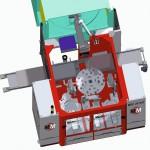 Die neu entwickelte Spritzgieß-Bestückungsanlage MRC 241552 Robocube. (Foto: MartinMechanic)