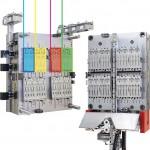 Das 7-Komponenten Werkzeug mit vier Farben. (Foto: Zahoransky)