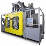 Vollelektrische Blasformmaschine Eblow 607 D mit 240 kN Schließkraft. (Foto: Bekum)