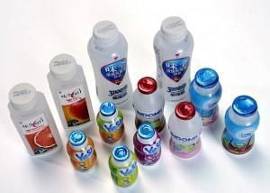 Auf der Interpack stets ein Thema: Design und Funktion von Trink- und Milchverpackungen. (Foto: Bekum)