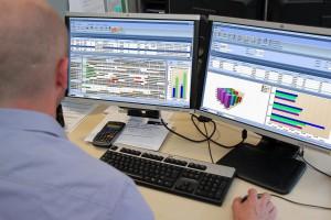 Die integrierte MES-Lösung Hydra bietet Funktionen zur Erfassung, Auswertung und Planung aller Ressourcen. (Foto: MPDV)