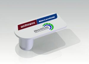 Diese Staubschutzkappe für Klinkenbuchsen aus Flüssigsilikon wird auf einer MicroPower 15/10 gefertigt. (Foto: Wittmann Battenfeld)