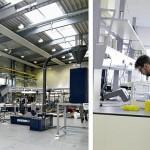 Das Customer Centre am Firmensitz in Österreich bietet auf 1.200 m² Fläche sieben Testanlagen mit einem angeschlossenen Kunststoffanalyse-Labor. (Foto: Erema)