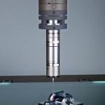 Im Messkopf sind Bildverarbeitungssensor und Laserabstandssensor integriert. (Foto: Werth)