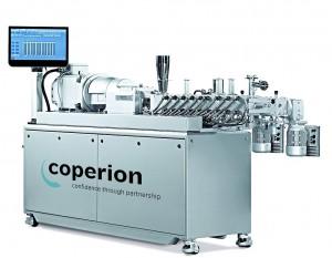 Die neue Labor-Extrusionsanlage wird Polyone künftig insbesondere für die Entwicklung von Polyamid-Compounds nutzen. (Foto: Coperion)
