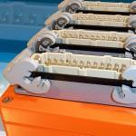 Die Anschlusskästen zur Verdrahtung gibt es für bis zu vier Stecker. (Foto: Hasco)