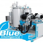 Unter dem Namen Blue Intelligence hat Hennecke seine Maßnahmen zur Energieeinsparung und CO2-Reduktion für Reaktionsgießmaschinen gebündelt. (Foto: Hennecke)