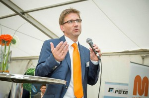 """Wolfgang Meyer, CEO von Maplan: """"Zahlreiche neue Projekte belegen den Nachholbedarf bei Investitionen auf der Verarbeiterseite einerseits und die Attraktivität unseres Angebots andererseits."""" (Foto: Maplan)"""