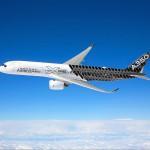 Für den Airbus A350 XWB werden Kohlenstofffaser-verstärkte Verbundwerkstoffe aus Deutschland eingesetzt. (Foto: Airbus)