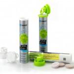 Mit der neuen Brilliance-Tube für Brausetabletten steigt Sanner in den Markt für dekorierte Verpackungen ein. (Foto: Sanner)