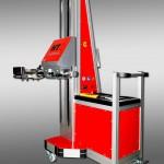 Das Hebetool HT2 kann Werkzeugplatten bis 120 kg in Werkzeugmaschinen einlegen. (Foto: Toolcraft)