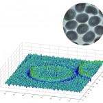 Die Röntgenanalyse zeigt zwei Kontaminationen innerhalb eines runden Pellets. (Abb.: Sikora)