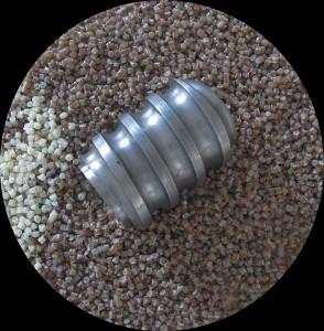 Die neue Kurzschnecke soll bereits Ende 2014 beim Compoundieren von NPC Nature Plastic Compounds zum Einsatz kommen. (Foto: CKT)