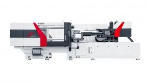 Auf der F 220 mit 2.200 kN Schließkraft werden mit einem 4-fach-Werkzeug Becher für das Abfüllen von Früchtekompott hergestellt. (Foto: Ferromatik)