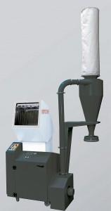 Als Zerkleinerungslösung für Durchsätze von 60 bis 220 kg/h stellt Getecha auf der Fakuma eine RS 2404 mit schallgedämmtem Mahlgehäuse und integrierter Absauganlage vor. (Foto: Getecha)