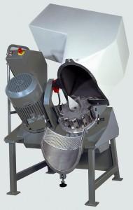 Die GRS von Getecha ist eine moderne Sauberraummühle, die – je nach Materialart und Sieblochung – etwa 80 kg/h zerkleinert. Ihre große Mahlkammeröffnung ermöglicht die Zerkleinerung sperriger Angüsse. (Foto: Getecha)