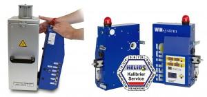 Helios stellt zur Überbrückung bei Wiederholungs-Kalibrierungen eine Austausch-Trocknersteuerung  zur Verfügung. Die Trocknersteuerung ist über Spannverschlüsse werkzeuglos abnehmbar. (Foto: Helios)