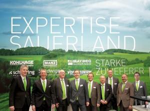 Acht Unternehmen mit Kompetenzen aus unterschiedlichen Technikbereichen arbeiten im Netzwerk Expertise Sauerland als Systemanbieter zusammen. (Foto: Expertise Sauerland)