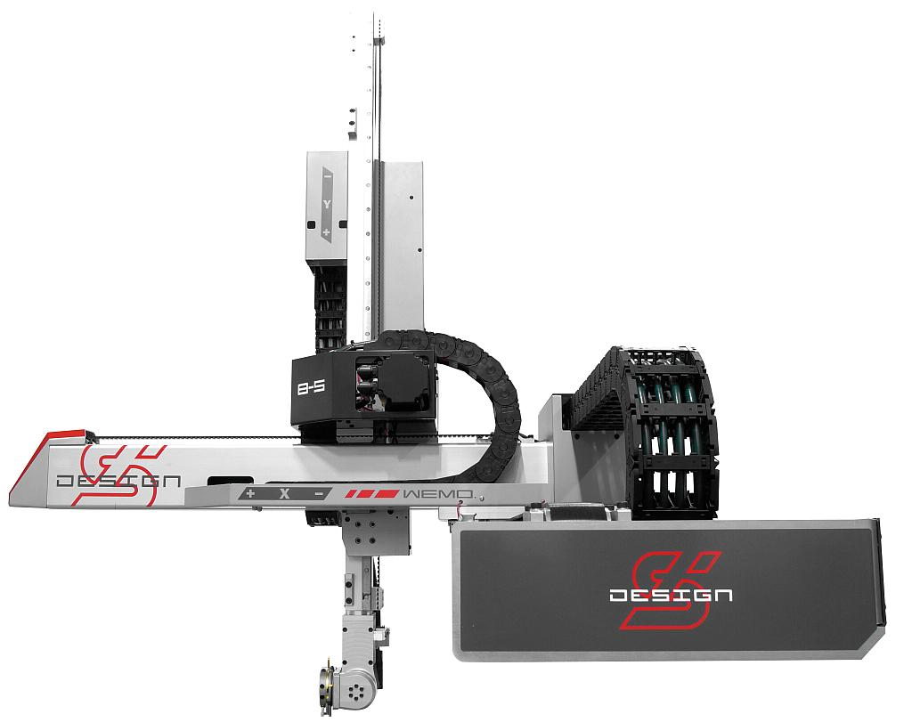 Auf der fakuma wird auch ein s design linear roboter für die