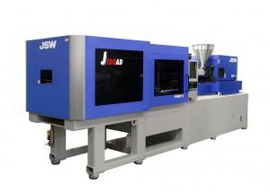 Vollelektrische J-AD Spritzgießmaschine von JSW mit 1.800 kN Schließkraft. (Foto: JSW)