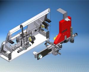 Der Multiflex IML-Roboter ist auf alle gängigen Etikettenformen ausgelegt – von der Spiegeletikette über die Kreuzetikette bis zur Banderole mit Bodenetikette (Quelle: Müller).