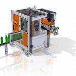 Smart im Footprint: IML-Hochleistungsfertigungszelle von Beck Automation. (Abb.: Beck)