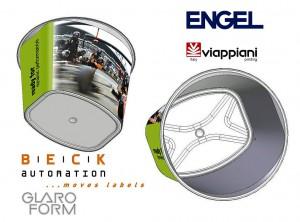 Edler Look am Point-of-Sale: Etiketten von Viappiani. (Abb.: Viappiani)