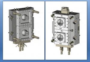 Dünnwandtechnik-Formenbau für IML: Zwei-Kavitäten-Hochleistungsform von Glaroform (Abb.: Glaroform)