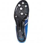 Der Asics Sonicsprint Elite (G402Y) ist ein superleichter Spike-Schuh mit einer glasfaserverstärkten Sohle aus Daiamid, die dem Schuh die für Sprints am Startblock benötigte Explosivität verleiht. (Foto: Evonik)