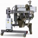 Der neue Unterwassergranulator Sphero S arbeitet in Durchsatzbereichen von rund 700 bis 3.000 kg/h. (Foto: Maag)
