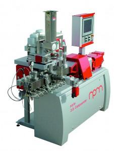 Der Klein-Compounder  ZCS 25 eignet sich für den Einsatz in Forschungs- und Entwicklungslabors sowie zur Rezeptur- oder Verfahrensentwicklung. (Foto: Noris Plastic)