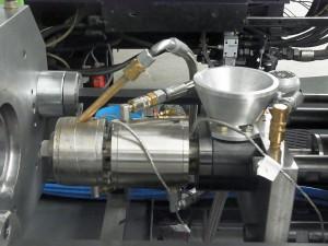 Plastifiziereinheit für die Fertigung von Klein- und Mikroteilen aus duroplastischen Werkstoffen. (Foto: Ökoplast)