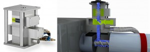 Metallseparatoren der Protector-Baureihe separieren Metallpartikel aus Kunststoffgranulat. (Foto: S+S)