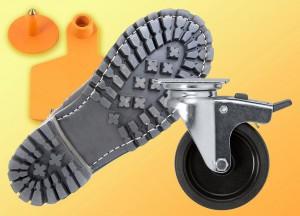 Die TPUs Ravathane sind in einem breiten Härtebereich verfügbar und eignen sich damit für Anwendungen im Automobil- und Freizeitbereich ebenso wie für Laufrollen, Ohrmarken zur Kennzeichnung von Nutztieren sowie Schuhsohlen. (Foto: Ultrapolymers)