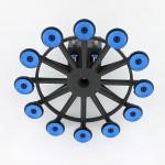 Bild 1: Leichtbau Roboterhand aus Polyamid mit kleinen Filtersieben. (Foto: ASS)