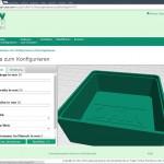 Creabis: Webbasierter 3D-Konfigurator für kundenspezifische Produkte