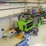 Technikum und Maschinenhalle Kunststofftechnik der Montanuniversität Leoben. (Foto: Montanuniversität Leoben)