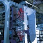 Mit der Rikutec GBM S10.000 LD entsteht derzeit die weltweit größte Blasmaschine. (Foto: Rikutec)